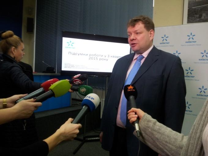Петр Чернышов, Президент Киевстар