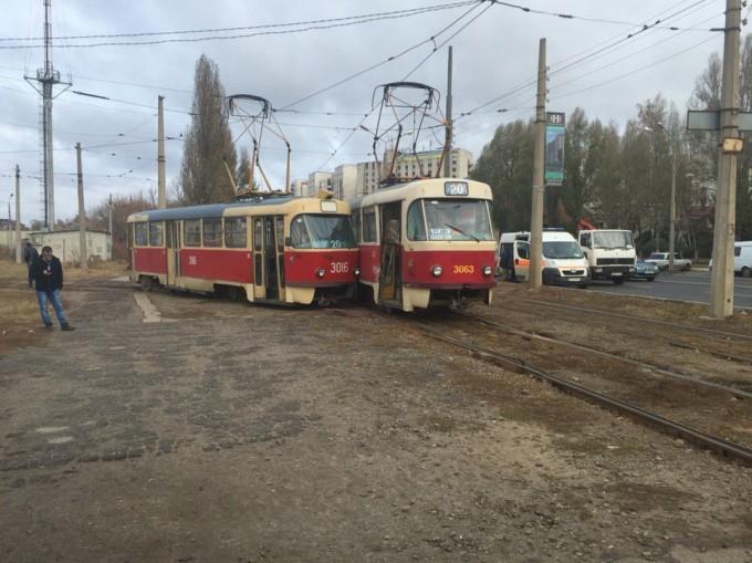Трамвайный дриф Харьков