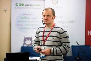 А. Колб на конференции «Бизнес интернет-магазинов» в Киеве
