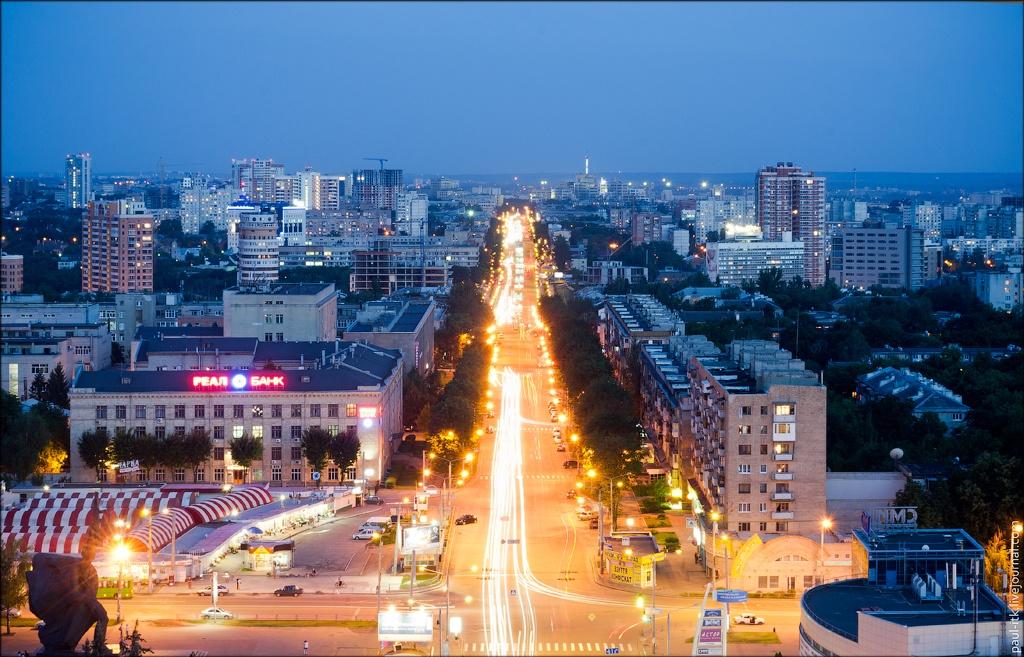 Проспект Ленина в Харькове