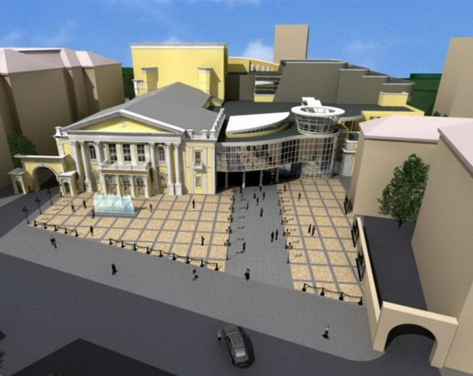 План реконструкции Харьковской областной филармонии. Фото: segor123's Bucket / photobucket.com