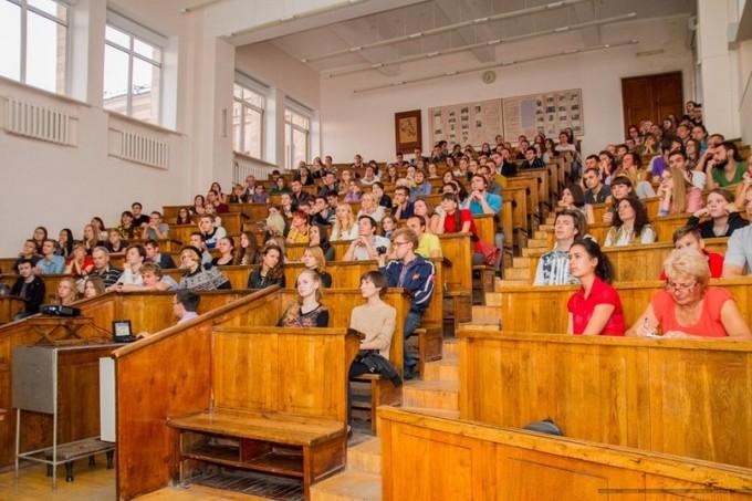 Отрытые лекции в аудитории им. Синельникова. Фото: vk.com/intellect_lecture