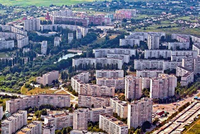 Салтовка - самый большой район в стране