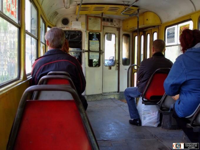 Трамваи Харькова старые и гнилые
