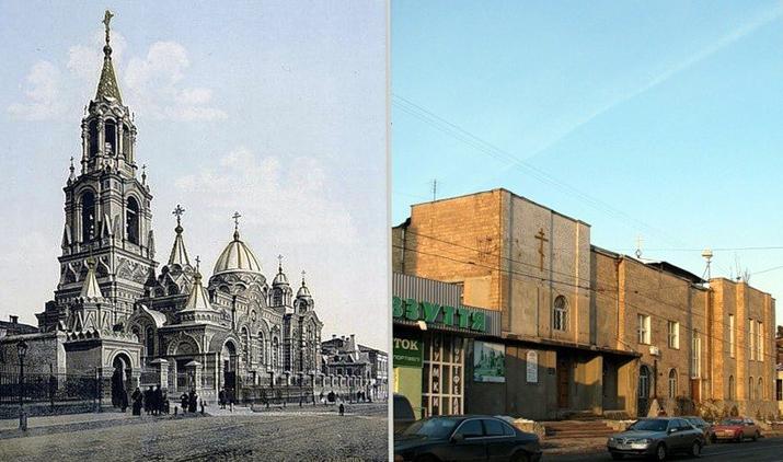 В Димитриевской церкви были магазины и кафе
