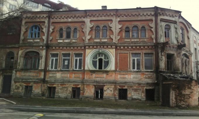 заброшенные здания. Масонский дом