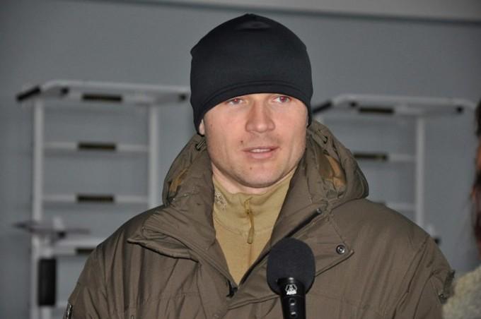 Начальник отдела организации деятельности Департамента «КОРД» Иван Худоба. Фото: ОСО ХНУВД