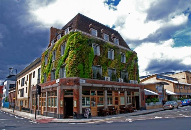Вертикальное озеленение одного из домов Лондона. Работа Патрика Бланка. Фото: www.adme.ru