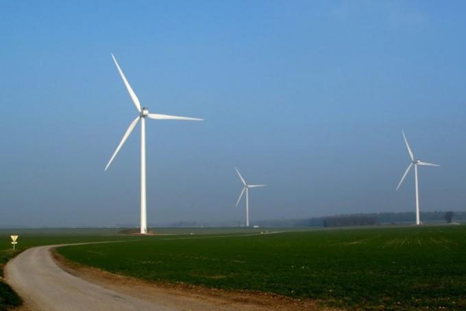 Ветрогенераторы «Vestas» V90 (Франция, Верхняя Нормандия)