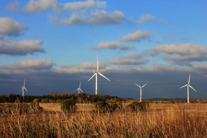 Ветропарк в Эстонии. Фото: wikimedia.org
