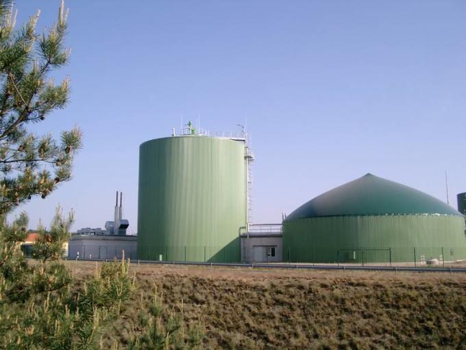 Визенау (Германия) установка по производству биогаза. Фото: www.kriegfischer.de