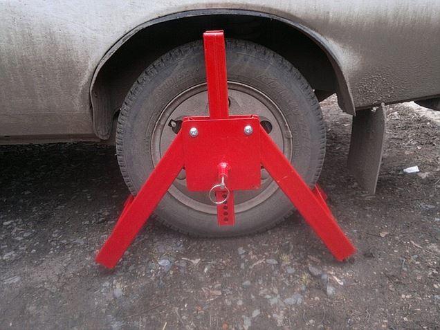 """Блокиратор колес """"краб"""". Фото: bizorg.su"""