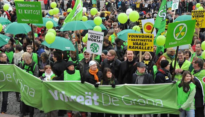 """Партия """"зеленых"""" из Финляндии """"Vihreät - De Gröna"""". Фото: www.dom007.com"""