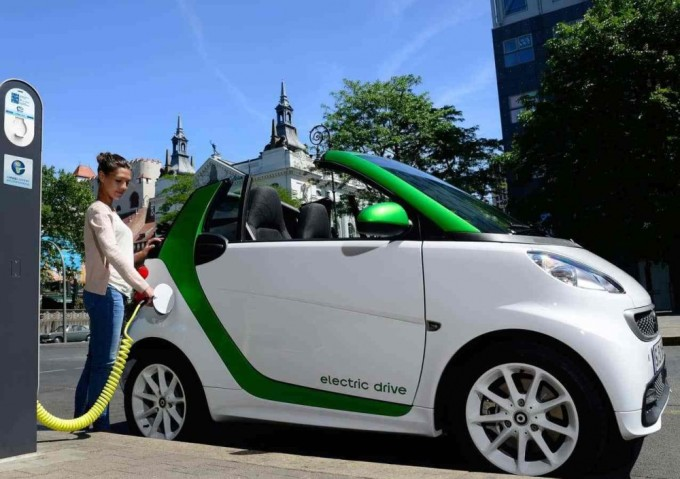Электромобиль Smart Fortwo Electric Drive. Фото: electromobiler.com