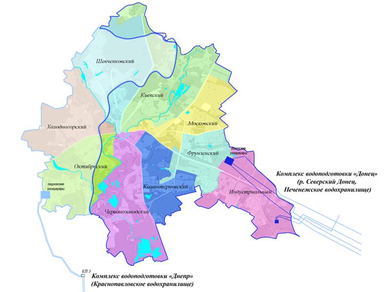 Обеспечение питьевой водой районов города Харькова. Фото: vodokanal.kharkov.ua