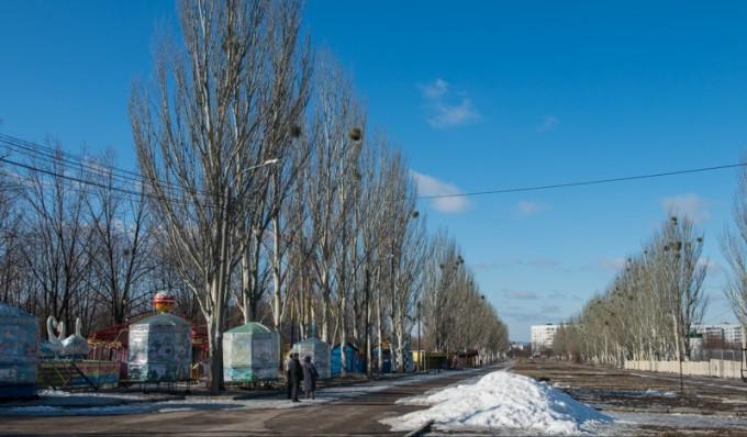 Парк Победы в Харькове. Фото: пресс-служба Харьковского городского совета.