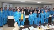 Сборная Украины на II Зимних юношеских Олимпийских играх. Фото: пресс-службы Национального олимпийского комитета Украины.