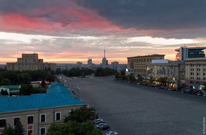Вид на площадь Свободы. Автор фото: Павел Иткин.