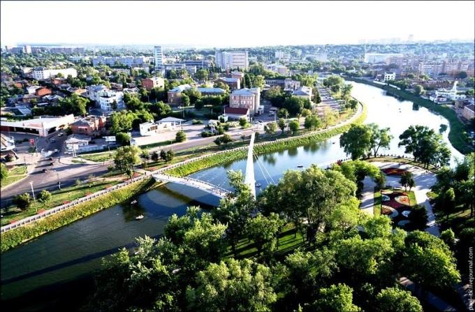 """Сквер """"Стрелка"""" Харьков"""
