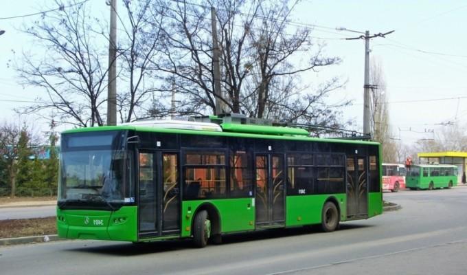 троллейбус в Харькове
