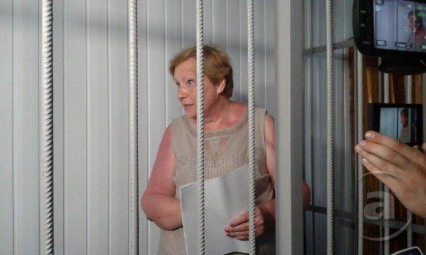 Суд отправил Александровскую под стражу надва месяца без права залога