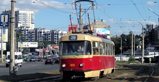 Транспортный коллапс вХарькове: -на пяти маршрутах некурсируют трамваи