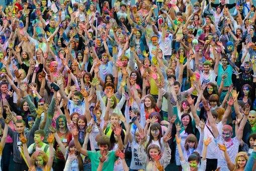 """Фестиваль красок """"Holi"""""""