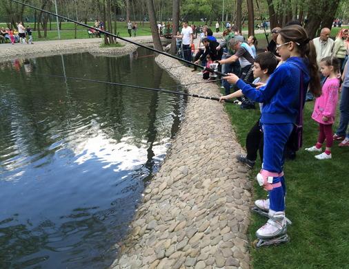 Рыбалка в Саржином Яру