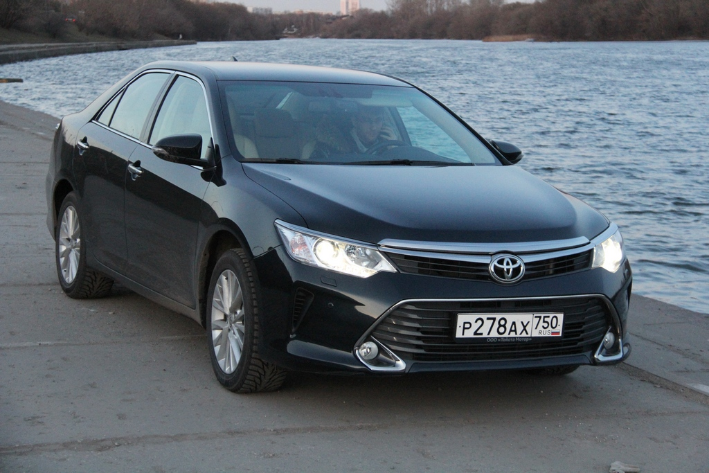 Toyota Camry, V55, 2015г, 2.5, 181 л.с.