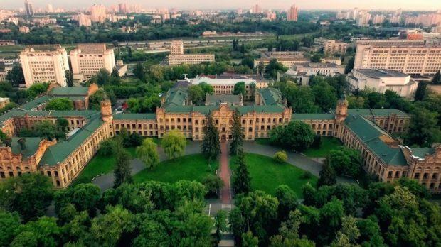 Киевский политехнический институт с высоты