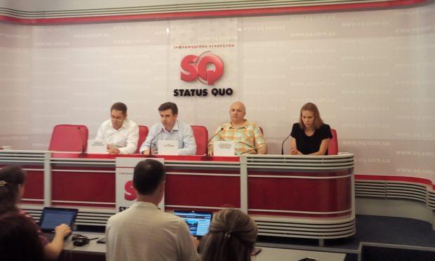 Пресс-конференция адвоката Олега Головкова, а также активистов Игоря Рассохи и Виктора Трубчанова
