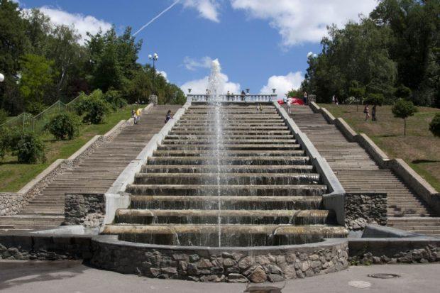 фонтан Каскад