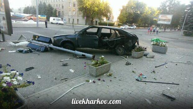 Смертельная авария. на Сумской. Фото: Стас Ткачев