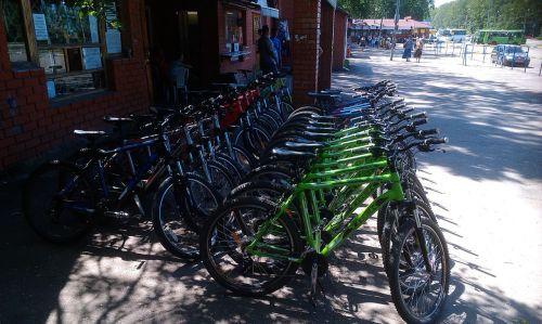 Велопрокатик в Лесопарке Харьков