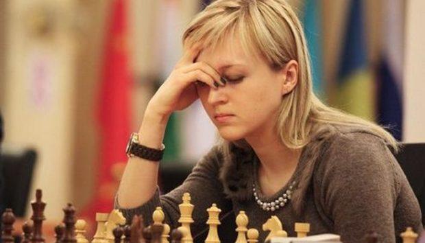 чемпионка Европы по шахматам