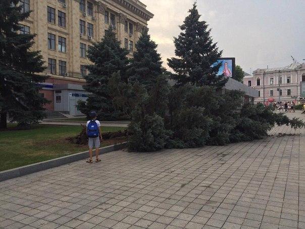 ураган в Харькове