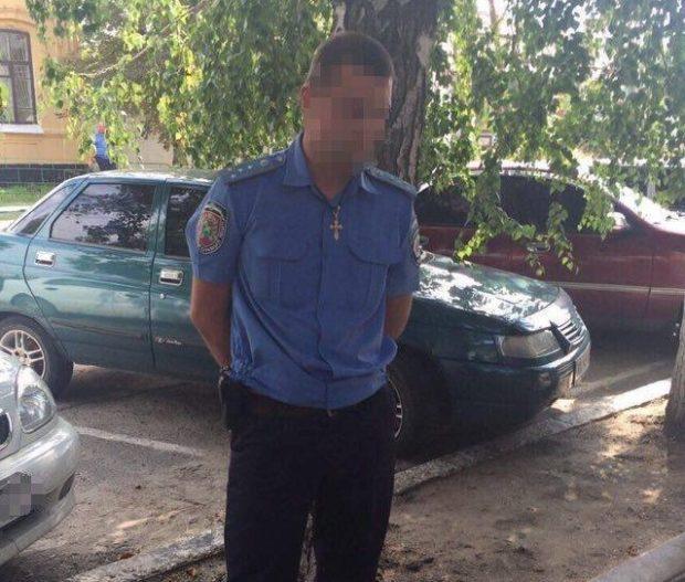 НаХарьковщине СБУ задержала навзятке следователя Нацполиции