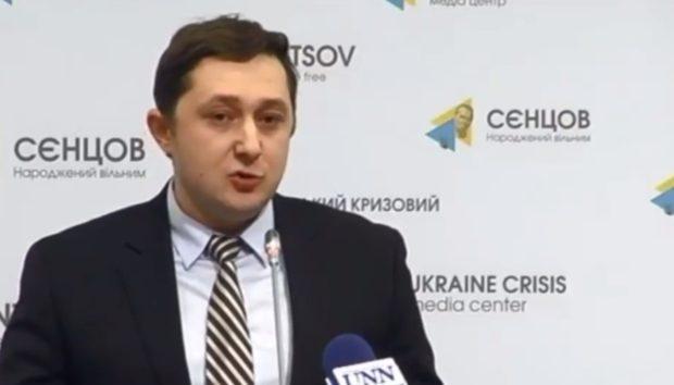 Руководитель аппарата главы СБУ Александр Ткачук. Фото: 112.ua