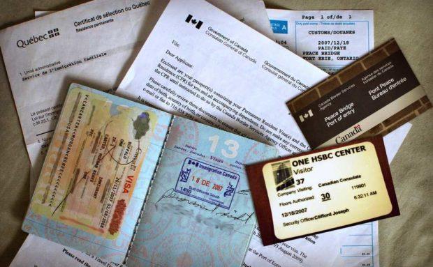 документы для канады