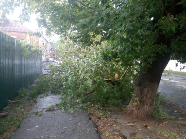 гроза в Харькове