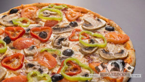 Королевские пицца и суши