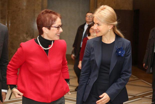 Светличная и посол США в Украине договорились о совместной борьбе с коррупцией