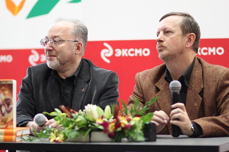Слева направо: Олег Ладиженский, Дмирий Громов