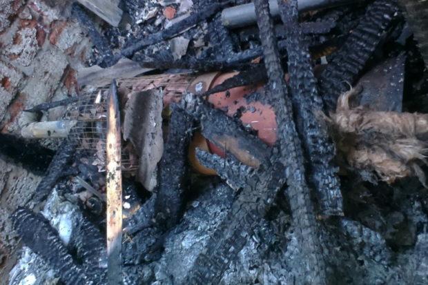пожар баня взрыв