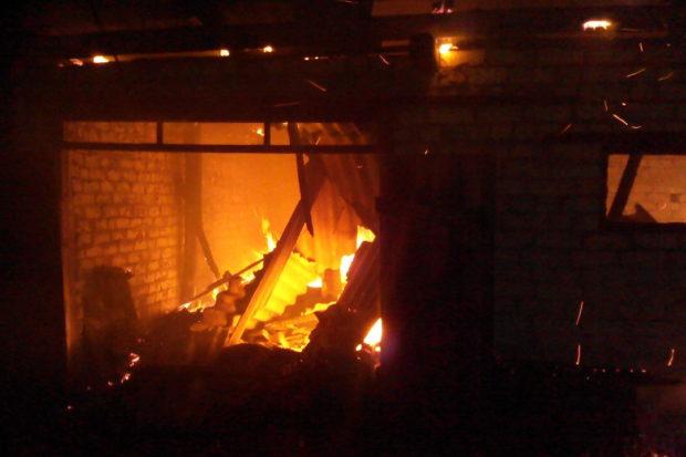 пожар чп спасатели
