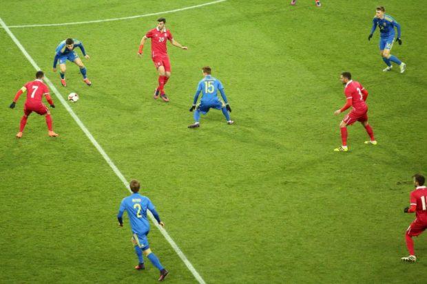 футбол металлист украина сербия