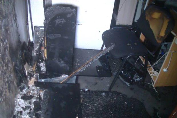 гостиница металлист плехановская пожар