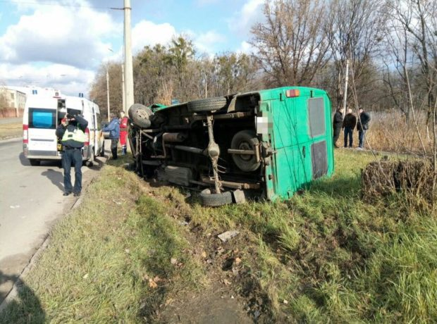 грузовик авария харьков дтп