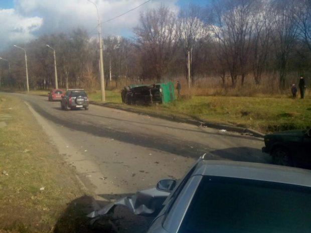 грузовик авария дтп харьков