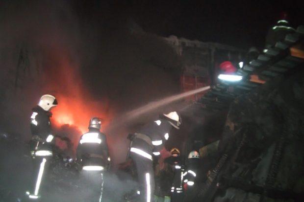 пожар чп спасатели якутская